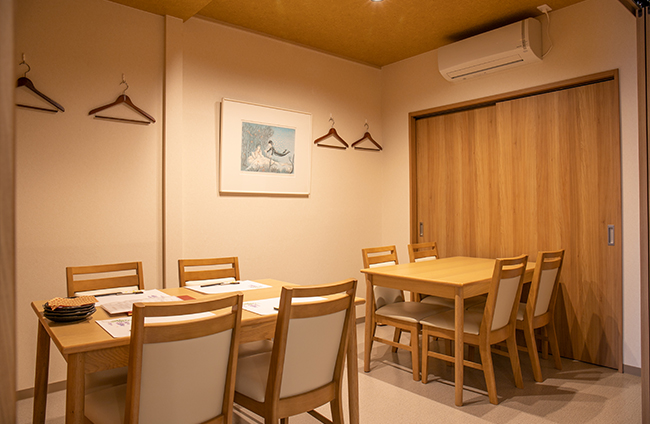ひたちなかの和食ののじ個室完備